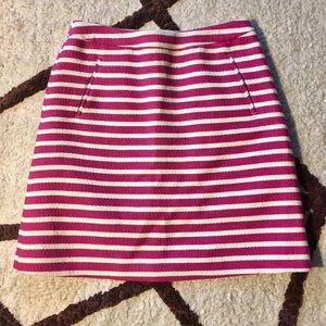Striped Halogen skirt